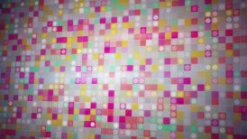 beaming colorful squares loopable background