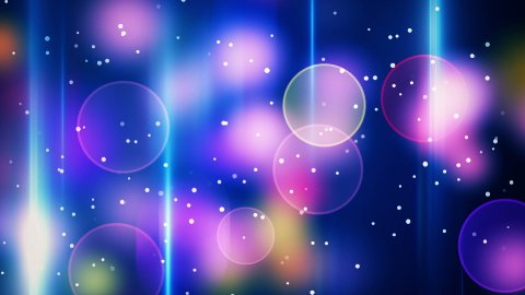 twitching bokeh lights loop background - stock footage