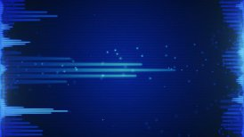 blue audio waveform loopable background
