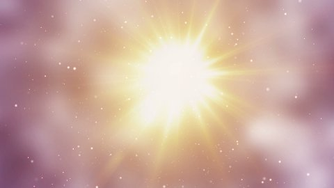bright light and particles loop background - stock footage
