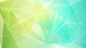 abstract triangle geometrical green cyan background loop - motion graphic
