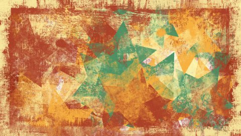 grunge stars loopable background - stock footage