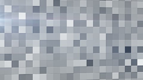 gray squares abstract loopable background - stock footage