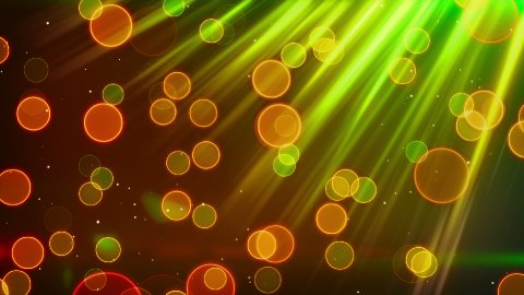 green red blinking bokeh lights loop - stock footage