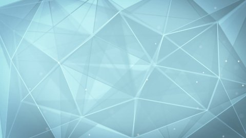 abstract triangle geometrical gray background loop - stock footage