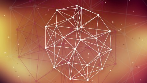 technology network background - stock footage