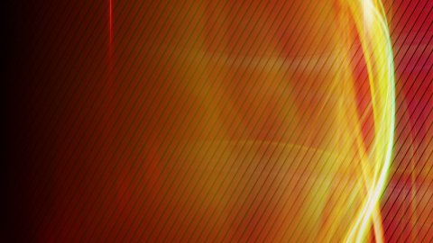 red curvy lights techno loop back - stock footage