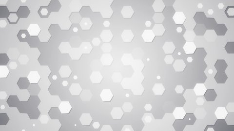 white hexagons loopable background - stock footage