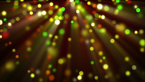 colorful shiny glitter circles loopable background - stock footage