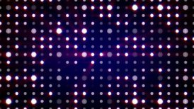 purple flashing light bulbs loopable background - motion graphic