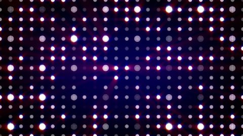 purple flashing light bulbs loopable background - stock footage
