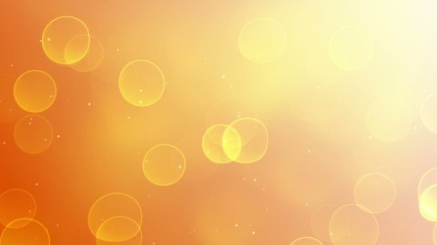 sunny bokeh lights loop background - stock footage