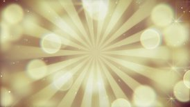 gold bokeh lights and rays loopable background