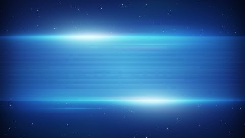 blue futuristic title plate loopable background - stock footage