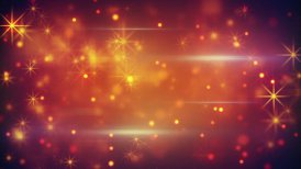 bokeh lights particles and glares loop - motion graphic