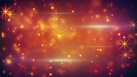 bokeh lights particles and glares loop - stock footage
