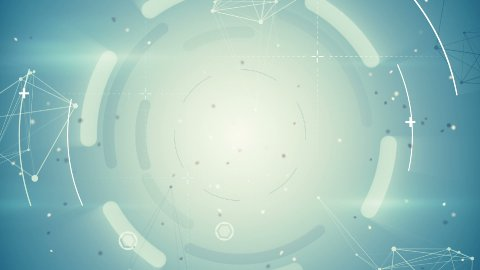 techno network loopable background - stock footage