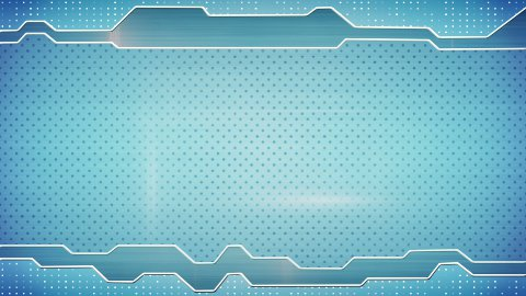 blue techno plate loopable background - stock footage