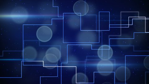 abstract techno lines loopable background - stock footage