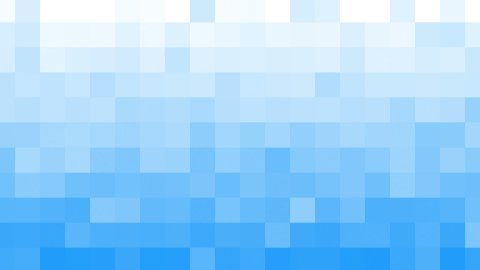 white blue mosaic tile loopable background - stock footage