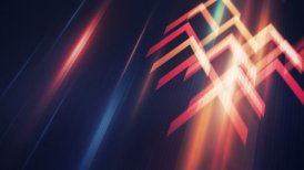 data transfering arrows moving loopable background - motion graphic
