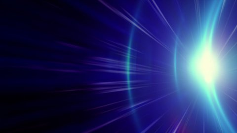blue light streaks loopable background - stock footage