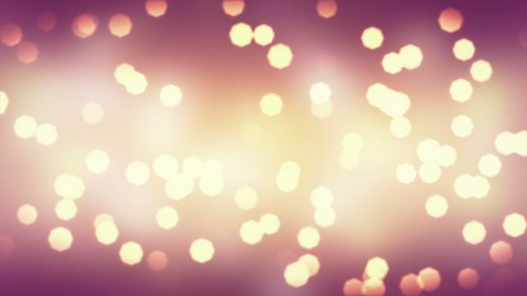 blinking bokeh lights loopable background - stock footage