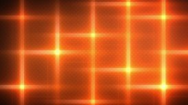 orange flashing lights loop background - motion graphic