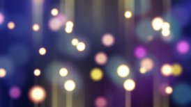 blurred glowing bokeh lights loop background - motion graphic