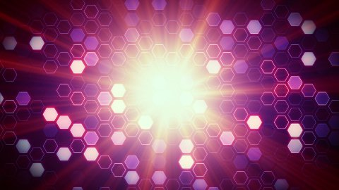 cells and light loop background - stock footage