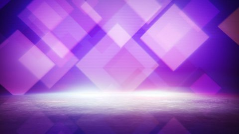 moving squares and reflection loopable background - stock footage