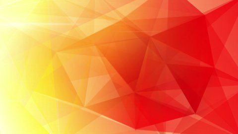 abstract triangle geometrical red background loop - stock footage