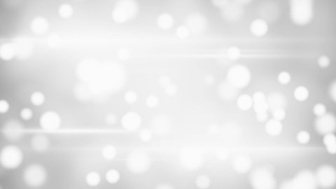 white blurred circles loopable background  - stock footage