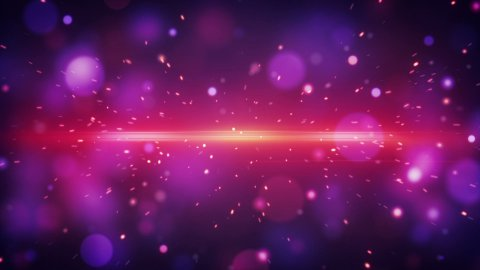 lot of fast flying particles magenta loopable background  - stock footage