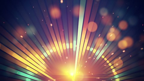 shiny disco party loop background
