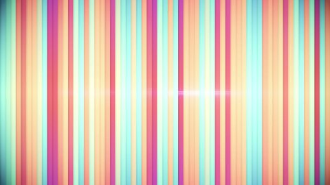multicolor stripes loopable background  - stock footage
