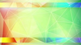 colorful triangles abstract geometrical background loop  - motion graphic