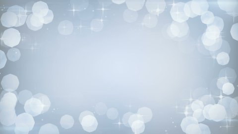 silver glitters frame festive loopable background  - stock footage