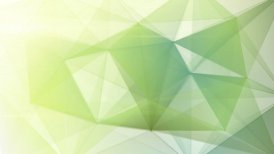 abstract triangle geometrical pale green background loop