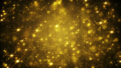 glittering golden dust loopable festive background