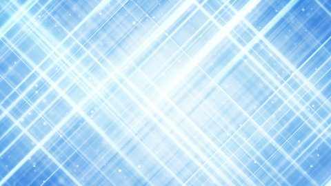 light blue crossed stripes abstract loopable background  - stock footage