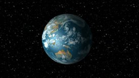 Earth Rotation Animation - motion graphic