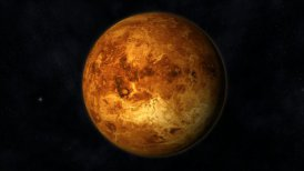Animation of the Planet Venus - motion graphic