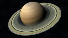 Animation of the Planet Saturn - motion graphic