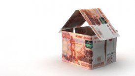 Real Estate Finance (Russian Ruble) - motion graphic