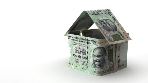 Real Estate Finance (Indian Rupee) - stock footage