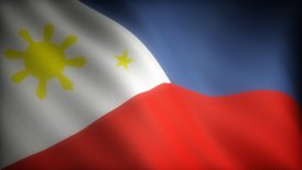 Flag of Philippines - motion graphic