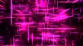 Travel through a grid of light beams - Loop Pink