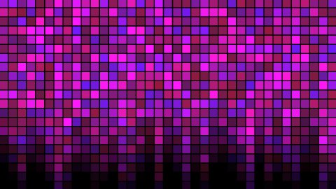 Blinking Tiles Background - Loop Pink - stock footage