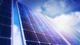 Solar Panels Sky Panorama (Loop) - editable clip, motion graphic, stock footage